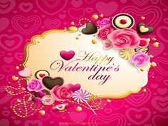 Small flowers Happy Valentine Day HD Wallpapers