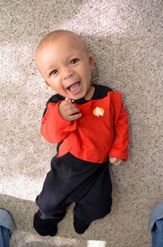 Baby Star Trek Costume 116
