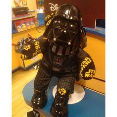 #StarWars #DarthVader #Disney #BuildABearWorkshop #TheForceAwakens #MayTheForceBeWithYou