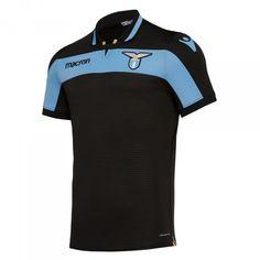 Terza maglia 2018-19 S.S. Lazio Ss Lazio, Football Soccer, Wetsuit, Third, Polo Shirt, Polo Ralph Lauren, Kit, Swimwear, Mens Tops