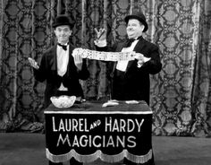 Laurel and Hardy, The Hollywood Revue of 1929.