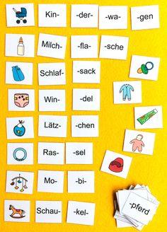 German Grammar, Preschool Worksheets, Montessori, Education, Learning, Learn German, Infant Activities, German Language Learning, Learning To Write
