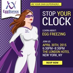 EggBanxx #EggFreezing Parties are a great way to meet several local doctors, ask your smart questions in a supportive environment of like minded adults, and receive lots of helpful information about fertility health, advances in technology, cost and more. Join us!
