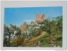 Enna - ENNA - Pietraperzia - Il Castello sulla bianca rupe tra il verde degli ulivi