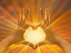 Hands of love and light