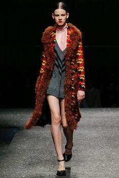 Prada Fall 2014 Ready-to-Wear Fashion Show - Joanna Tatarka