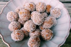 MIND BLOWING CARROT CAKE TRUFFLES ~ They're wholesome, nutritious and naturally free from gluten, dairy, egg and refined sugar!