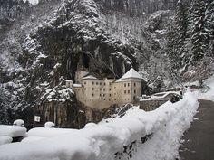castillo Predjama, Eslovenia