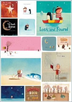 Oliver Jeffers (Lost and found)