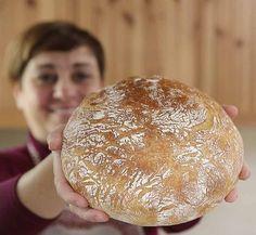 Bread Recipes, Cooking Recipes, Dutch Oven Bread, No Knead Bread, Burger Buns, Just Cooking, Ciabatta, Antipasto, Finger Foods