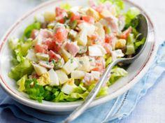 Salade au surimi, facile, rapide et pas cher : recette sur Cuisine Actuelle