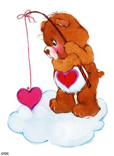 Care Bears: Tenderheart Bear Fishing with a Heart