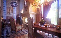 Скачать обои интерьер, стиль, дизайн, дом-замок, раздел интерьер в разрешении 1280x800