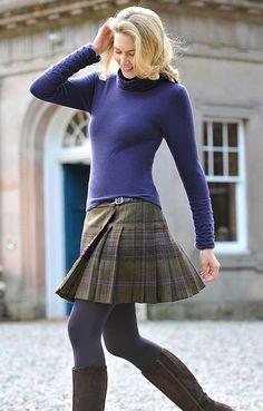 Ladies Tweed Kilt