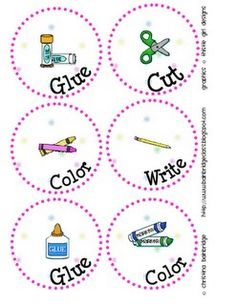 supply labels first-last-week-of-school-ideas