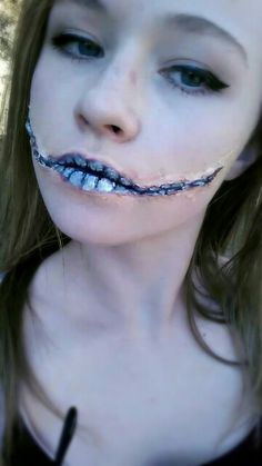 Shark sfx makeup. I used ben nye clown white and bruise wheel for ...
