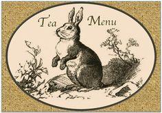 spring tea printable