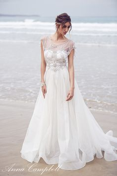 Anna Campbell Wedding Dress Adelaide from her 2016 Spirit Collection