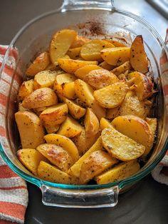 Greek Recipes, Vegan Recipes, Cooking Recipes, Fall Recipes, Delicious Recipes, Potato Dishes, Potato Recipes, Potato Ideas, Vegetable Sides