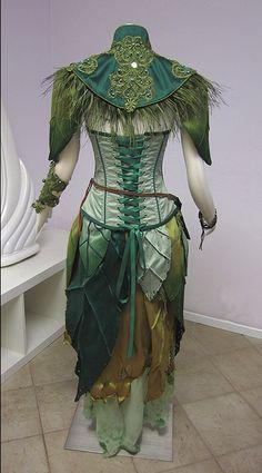 pogonabarbata: Dryad Archer Costume by Lilly Xandra