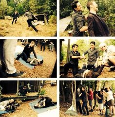 The Originals behind the scenes