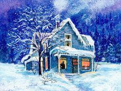Kış-Manzaraları-Çizim-3.jpg (808×606)