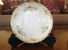 Wexford China Shabby Chic Coupe Soup Bowl by AlbertsonMiller on Etsy