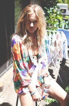 MINKPINK 'Chelsea' Soft Blazer & 'High Tea' Shorts | Nordstrom