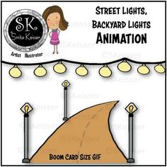 Animated Street Lights GIF Clip Art, Roads Clip Art, Moveable Streets Graphics Backyard String Lights, Black And White Gif, Cork Art, Text Overlay, Kindergarten Lessons, Video Clip, Task Cards, Early Childhood, How To Draw Hands