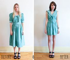 Project ReStyle on flickr #inspiration #sewing #vintage #thrift