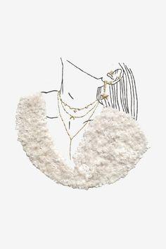 Sweaters and GRANDÉ Jewels Bat Pattern, Flamingo Pattern, Border Pattern, Snowflake Pattern, Mandala Pattern, Arabesque Pattern, Illustration Mode, Christmas Tree Pattern, Wool Thread