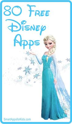 ** 80 free Disney apps!! ** http://www.smartappsforkids.com/2013/03/good-free-apps-of-the-day-disney-apps-.html