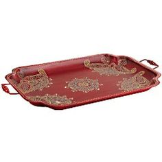 Oval Coffee Table Decor Tray
