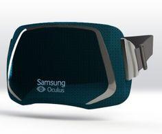 Las primeras imágenes de las gafas de realidad virtual de Samsung.