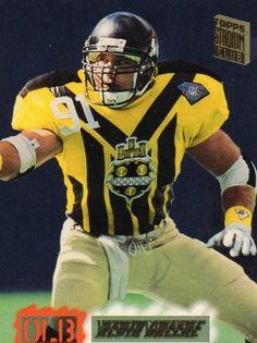 3ff169b0f 1995 Topps Football Card Steelers Kevin Greene
