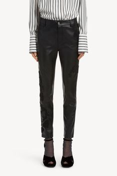 Pantalone con ricami   NERO Ermanno Scervino, Ready To Wear, Trousers, Suits, Jeans, Shopping, Fashion, Trouser Pants, Moda