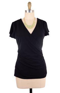Banana Republic Black Blouse Size M #fashion #style