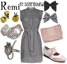 Remi! Okay totally love the idea of a Remi inspired look! I really like this outfit- simple and subtle! Love the rat ring and the bow! Totally would wear this outfit! For Marissa!