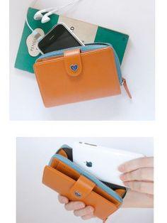 Portemonnee voor Iphone, voor € 12,95 bij www.miss-p.nl