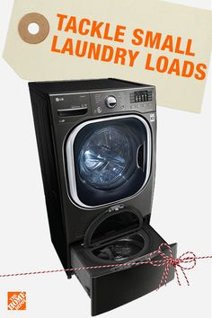 Now is the best time to upgrade your laundry pair just in time for the holidays. Shop the latest innovations in washers, including the option to wash two loads at once. The Home Depot has the best brands and the best selection so you can get more to do more. Click to shop washers and save big.