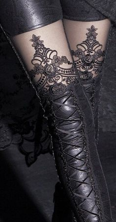 so beautiful legging! I really love it<3 #legging #sexy #black #lace