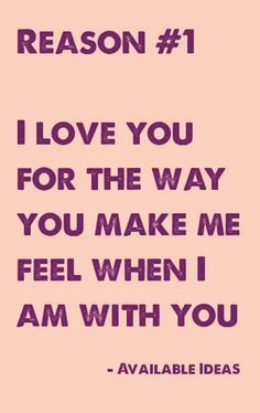 52 Reasons Why I Love You Cards Quotes : Why i love you, I love you and Love you on Pinterest
