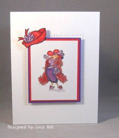 FS211 Red Hat CASE_lb by Clownmom - Cards and Paper Crafts at Splitcoaststampers