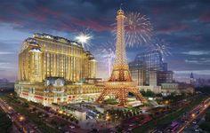 12のエッフェル塔も2016年9月ザパリジャンマカオオープン