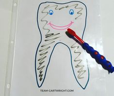 Preschool Tooth Brushing Activities – Toddlers and Preschoolers Art Activities For Toddlers, Gross Motor Activities, Autism Activities, Infant Activities, Body Preschool, Free Preschool, Toddler Preschool, Preschool Crafts, Toddler Bedtime