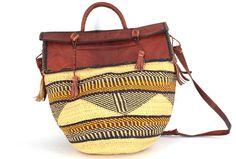 Akosua Leather Top Bag