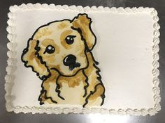 Golden Retriever cake 5th Birthday, Birthday Cakes, Birthday Ideas, Golden Retriever Training, Animal Cakes, Amazing Cakes, Scooby Doo, Dogs And Puppies, The Incredibles