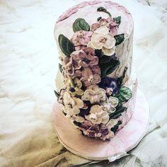 Orchid love❤️!! #buttercreamflowers #flowercake #cakeart #creativity #nyc #newyork #cakesbycy