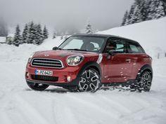 Mini Cooper D Paceman......ski country, here I come ! :)