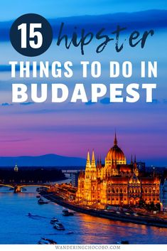 Are you planning to travel to Budapest, Hungary and looking for off the beaten path Budapest hidden gems? Here is your hipster guide to Budapest! I things to do in Budapest I what to do in Budapest I Hungary travel I Europe travel I places to go in Budapest I hidden gems in Budapest I where to go in Budapest I things to do in Hungary I unique things to do in Budapest I Budapest off the beaten path I travel in Budapest I guide to Budapest I where to eat in Budapest I #Hungary #Budapest… European Travel Tips, Europe Travel Guide, Travel Guides, European Summer, Travel Abroad, Budapest Travel, Budapest Nightlife, Visit Budapest, Europe Destinations